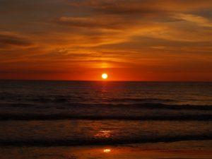 Corfu Sea Sunset