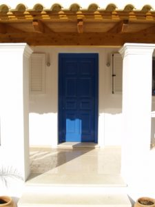 Helios Court Villa Front door