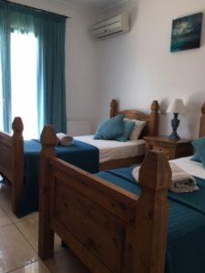 Bedroom in Corfu Villa
